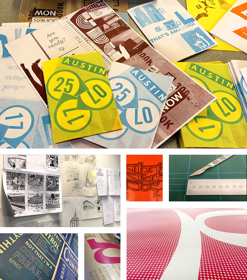 Graphic Design, Wolverhampton School of Art, University of Wolverhampton