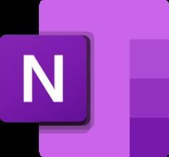 The OneNote logo in Teams