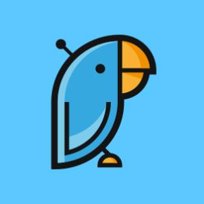 The Polly bot logo in Teams