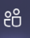 The meeting attendees icon in Teams