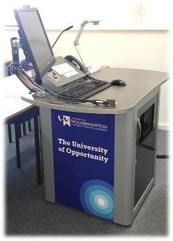 New AV Desk