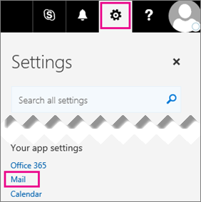 office 365 mail settings