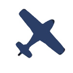 Aerial logo graphic image of a plane