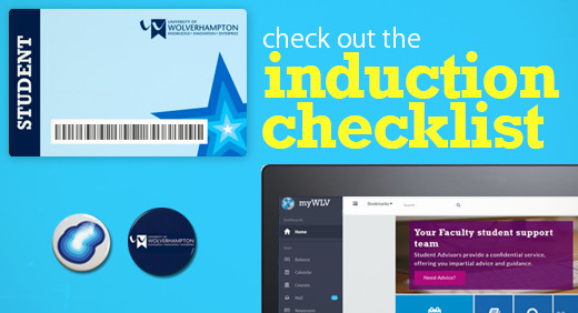 Check out the induction checklist