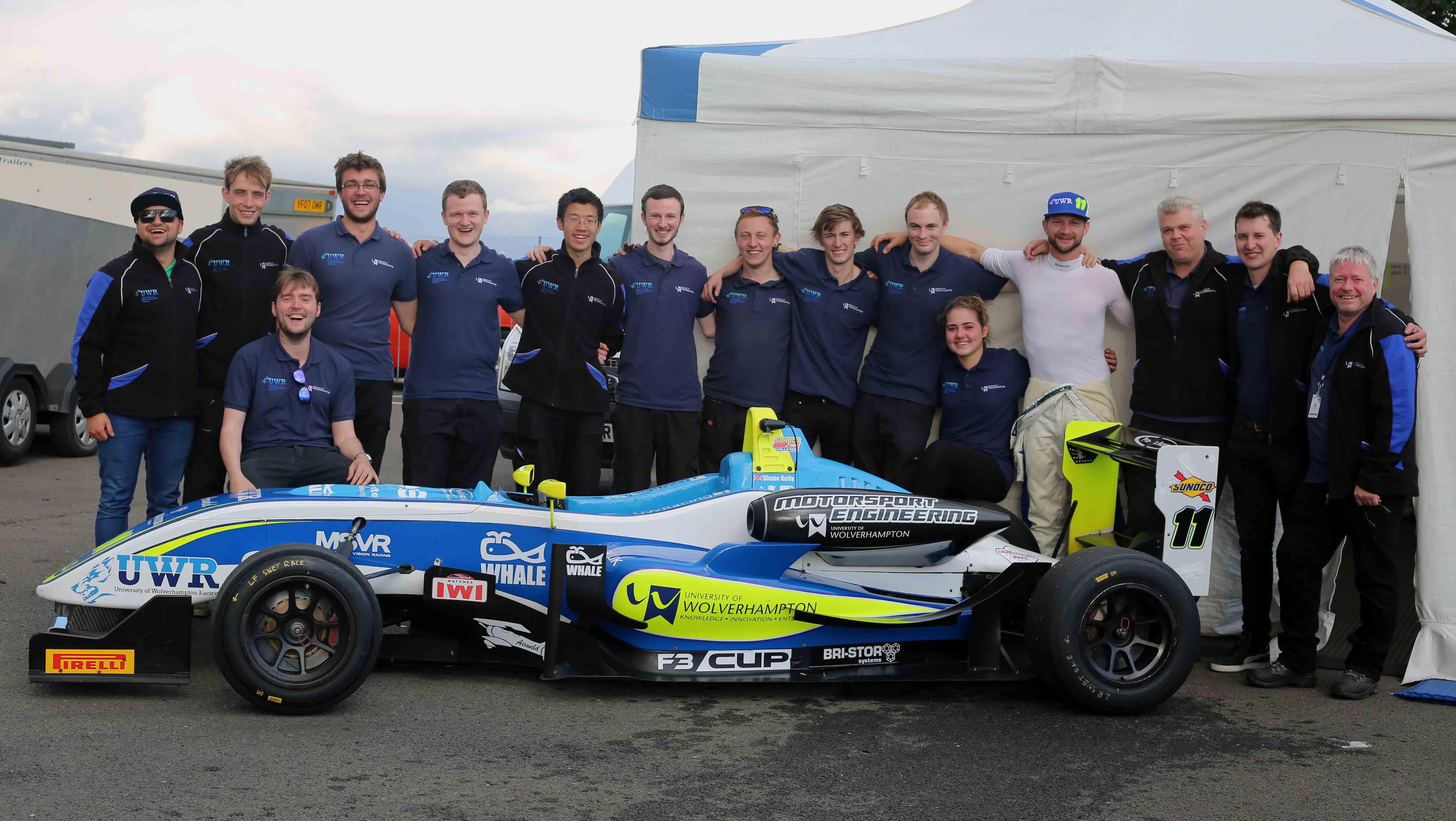 UWR F3 Team Snetterton