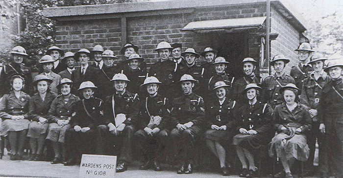 ARP Wardens at Lewisham (author's collection)