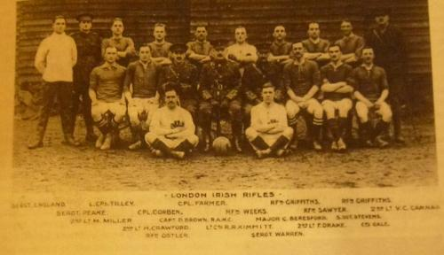 The London Irish Rifles and The Football of Loos - The London Irish