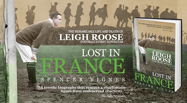Leigh Roose- Lost in France - book cover