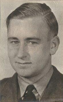 A portrait photograph of Donald Homer. Photo: J. Broad