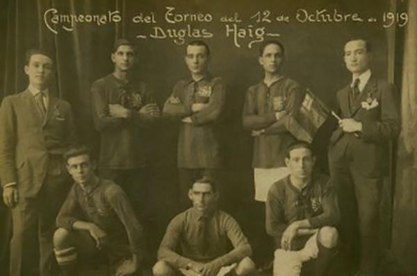 Winners of the Tournament 12 October 1919 - Team Douglas Haig