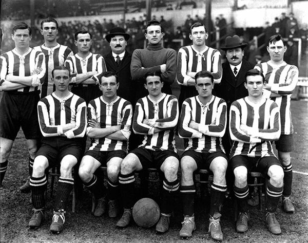 Fulham Football Club group picture 1915