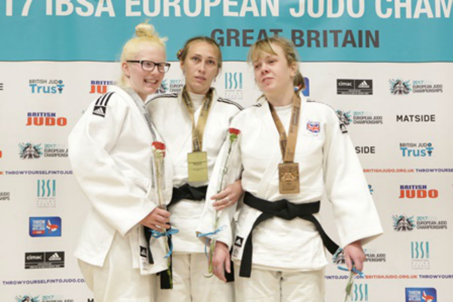 Natalie Greenhough judo