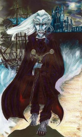 Glenn Martin James Dracula painting