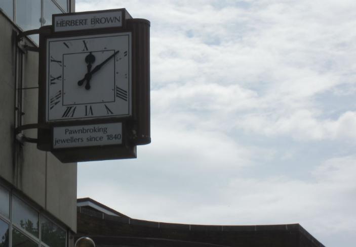 Herbert Brown clock 920