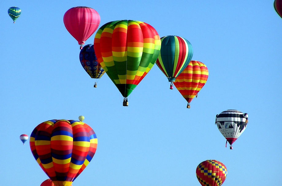 Hot air balloons Pexels 920