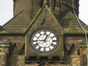 Chapel Ash clock 920