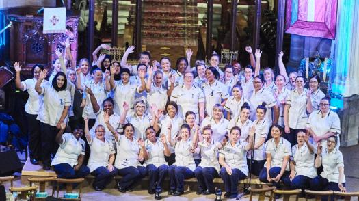 Celebrating graduation - our nurses can be justifiably proud!
