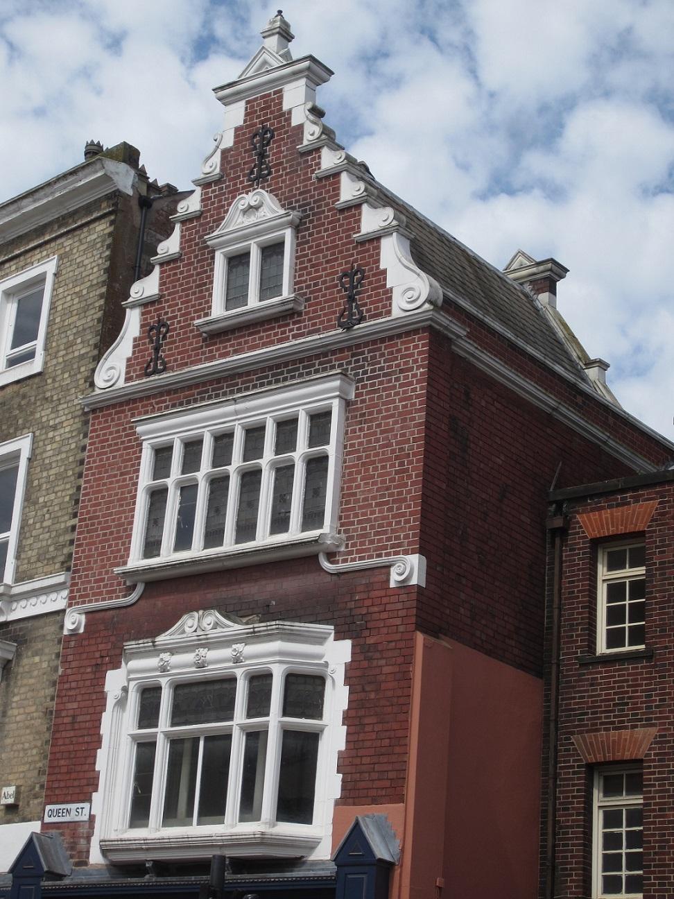 Queen street building façade