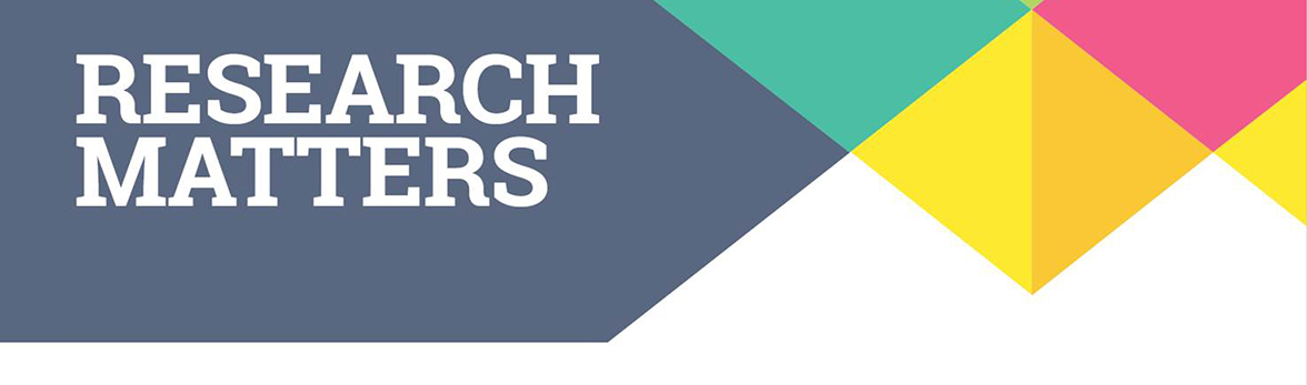 Research Matters publication heading