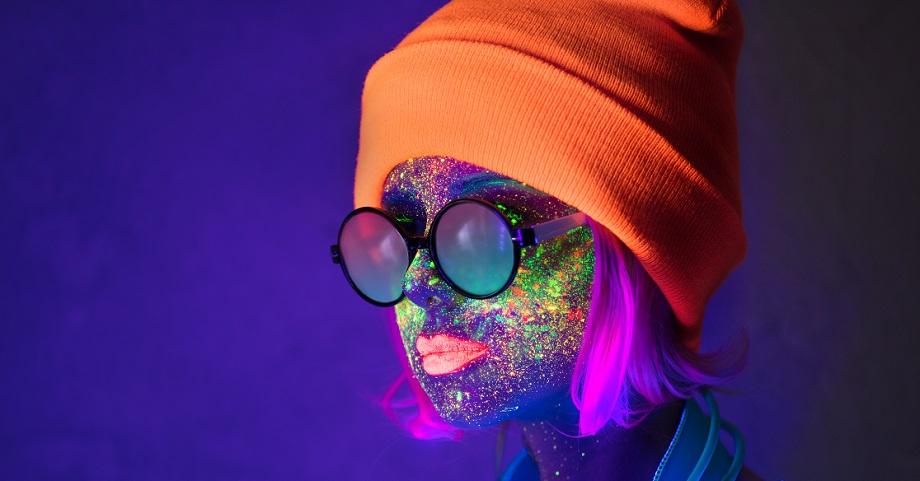 LGBT UV glow event