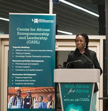 Christiana Wakawa CAEL Student