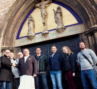 Students at the University of Wolverhampton are giving valuable input into the protection, restoration and future of a historic church in the city.