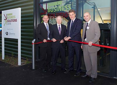 Hereford Business Solutions Centre opening