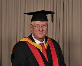 Honorary graduate of 2015 Paul Birch