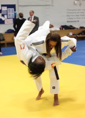 Judo Centre MP Visit 2