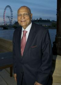 Lord Swarj Paul of Marylebone at the House of Lords Event