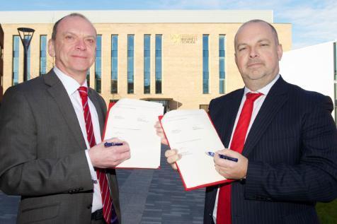 Memorandum of Understanding signing with Santander.