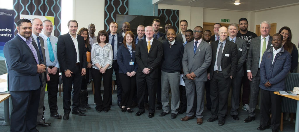 Construction and Built Environment attended a Breakfast Networking Event to meet and engage with employers.