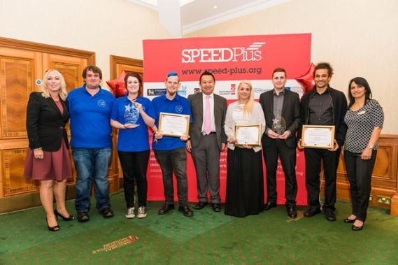 The team at SPEED Plus has been short-listed for a Guardian Award 2016 for entrepreunership.