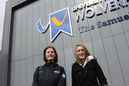 Danielle Brown MBE gives guest lecture at Walsall Campus.
