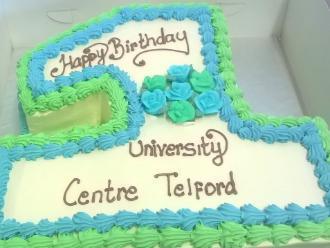 The University Centre Telford celebrates its first birthday.
