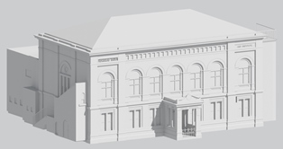 3D Model of historic building