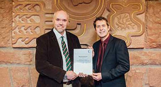 David Luckhurst and Professor Iain Stewart