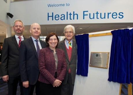 The official Opening of the Health Futures University Technical College by Lord Baker