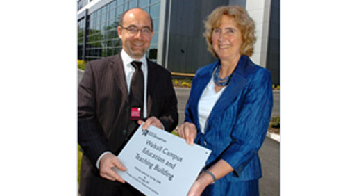 New Uni building officially opened
