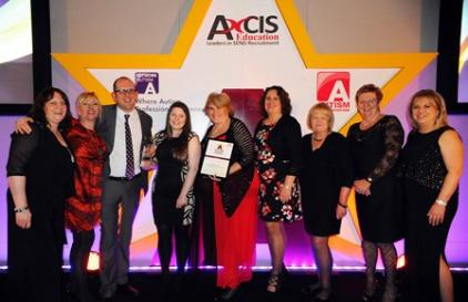 Picture of the Rainbow Room Team at the Awards Ceremony