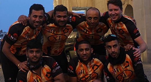 Punjabi Wolves Charity cycling war