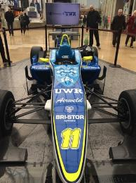 F3 Cup Car being unveiled at the Bullring Birmingham event.