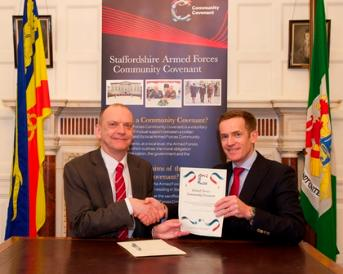 University signs Armed Forces Community Covenant Signing
