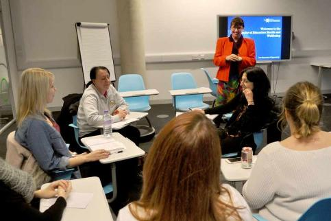 A new higher education course for people seeking a career working in the areas of special needs, childhood and family studies has been launched at University Centre Telford.