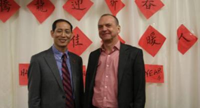 Mr Fenghe Qiao and Professor Geoff Layer