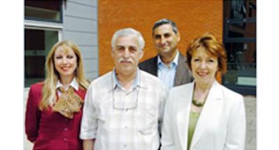 L-R: Janet Firth, Mihai Georgescu, Ioan Mustate, Barbara Maiden