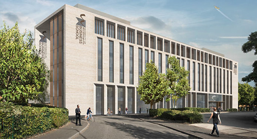 Plans for new Business School building 3