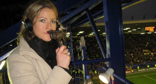 sports broadcaster Jacqui Oatley