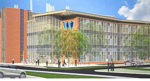 Artist's Impression of the University of Wolverhampton Science Park