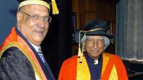 Lord Paul and Dr APJ Abdul Kalam